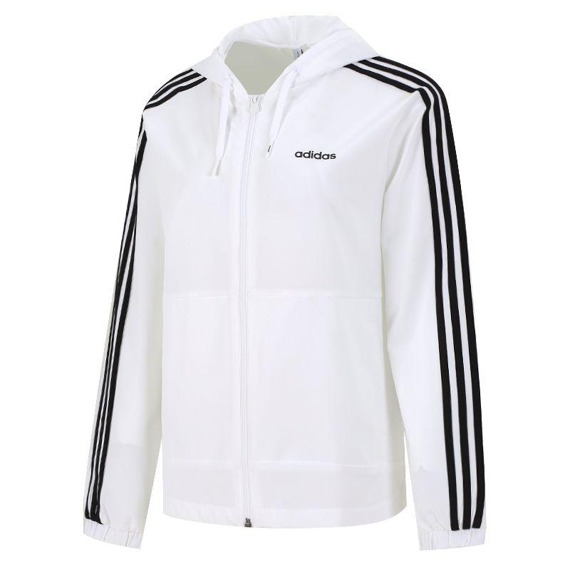 阿迪达斯生活Adidas NEO 女子 2021新款运动服户外跑步训练健身透气干休闲夹克外套 H36745