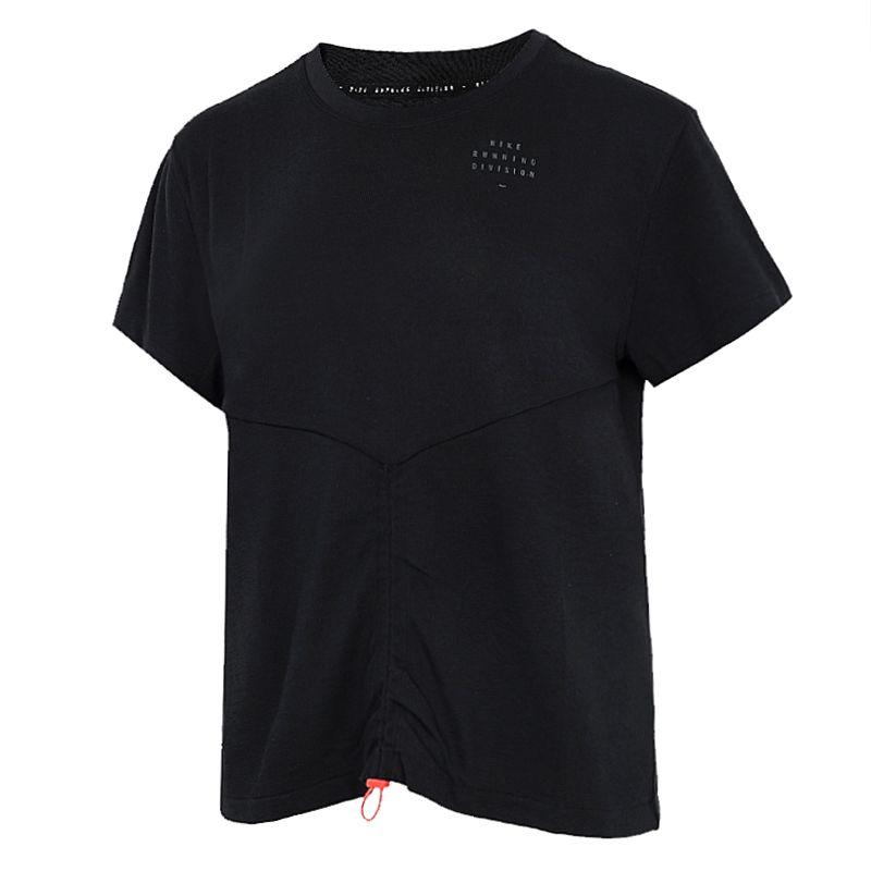 耐克NIKE 女子 2021新款跑步训练运动T恤休闲半袖 DD5316-010