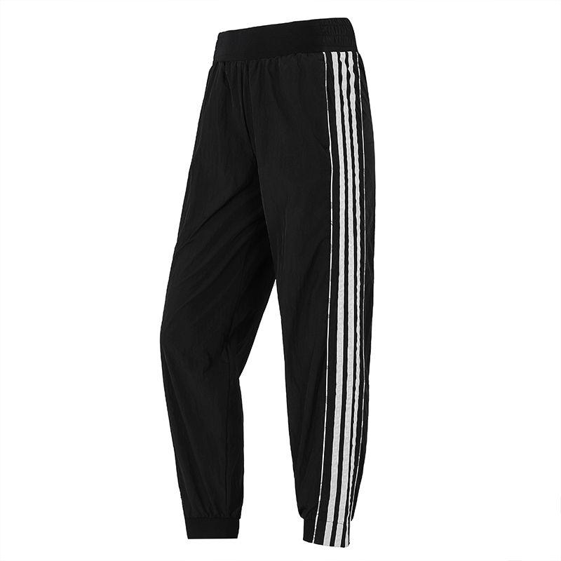 阿迪达斯ADIDAS 女子 2021新款运动跑步健身轻薄透气舒适训练长裤 H09726