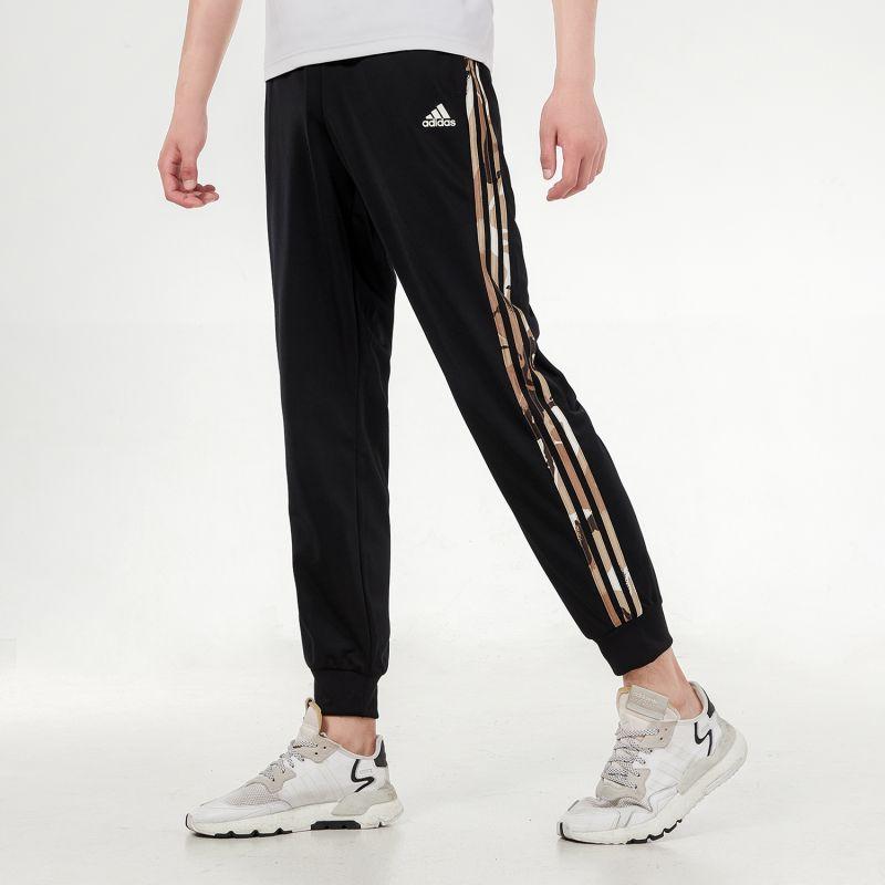 阿迪达斯ADIDAS 男子 2021新款运动时尚舒适透气休闲针织长裤 H48439