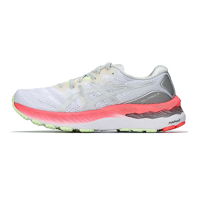 亚瑟士ASICS 女子 2021新款运动缓震透气休闲舒适耐磨跑步鞋 1012B243-101