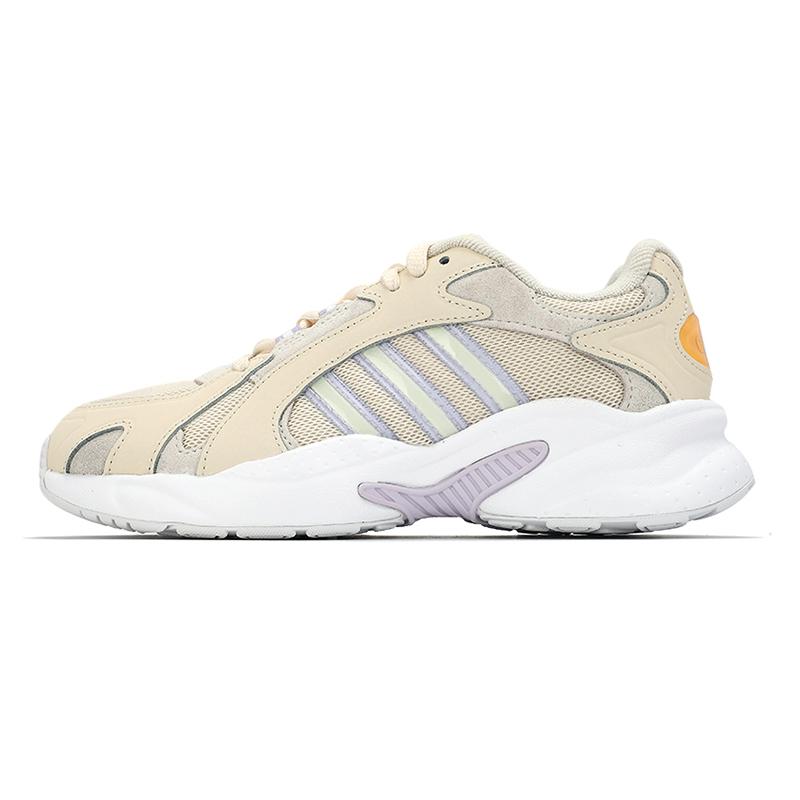 阿迪达斯生活Adidas NEO 女子 2021新款运动鞋复古时尚耐磨舒适轻便透气板鞋休闲鞋 GZ5443