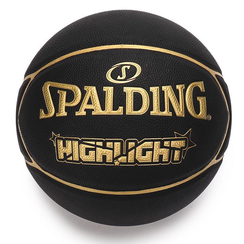 斯伯丁SPALDING 男女 2021新款室内外水泥地耐磨训练舒适篮球 76-869Y