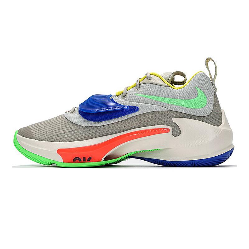 耐克NIKE 男女 2021新款字母哥三代运动鞋场上训练舒适透气耐磨缓震休闲篮球鞋 DA0695-100