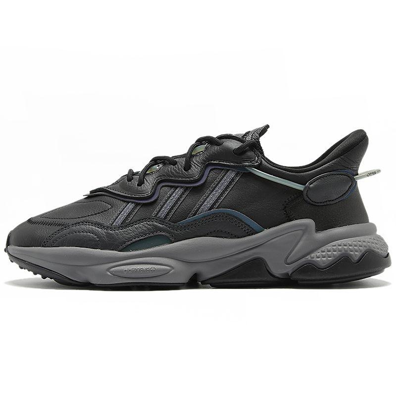 阿迪达斯三叶草  男女鞋  2021新款黑武士运动休闲老爹鞋 EE7004