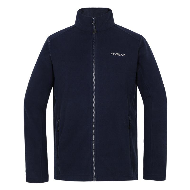 探路者TOREAD 男子 2021新款户外防风开衫摇粒绒冲锋衣内胆保暖外套 TACJ91929-C03X