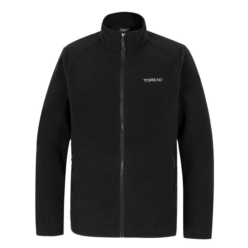 探路者TOREAD 男子 2021新款户外防风开衫摇粒绒冲锋衣内胆保暖外套 TACJ91929-G01X