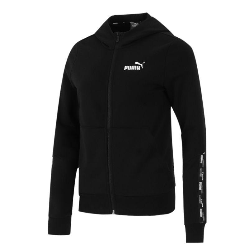 彪马PUMA 女子 2021新款健身跑步休闲服运动服长袖时尚夹克外套 847704-01