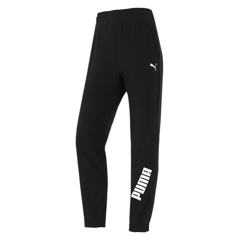 彪马PUMA 女子  2021新款运动跑步训练健身舒适透气休闲针织长裤 846286-01
