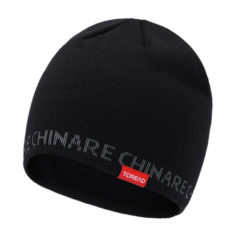 探路者TOREAD 男女 2021新款舒适透气保暖绒线帽  TELI90315-G01X