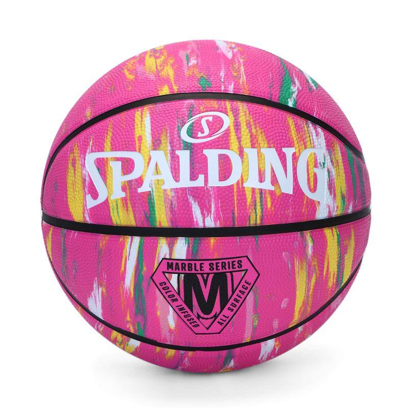 斯伯丁SPALDING 男女 2021新款时尚潮流室内外通用比赛训练7号篮球  84-402Y