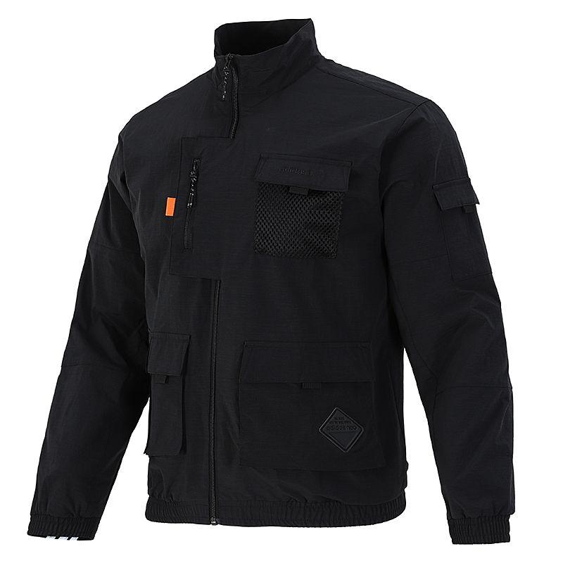 阿迪达斯生活Adidas NEO 男子 2021新款运动多口袋工装夹克外套 HE7940