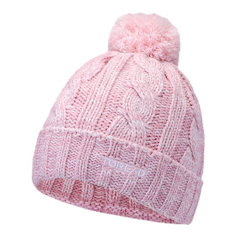 探路者TOREAD  男女 2021新款舒适透气休闲绒线帽  TELI90312-AC6X