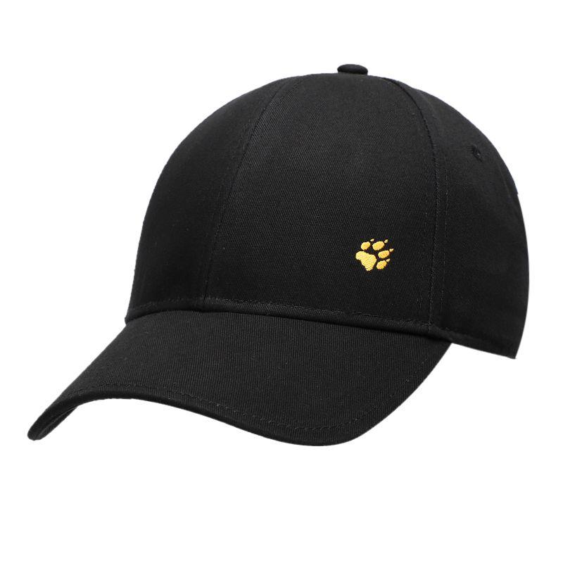 狼爪Jack wolfskin  男女 2021年新款户外情侣款刺绣时尚遮阳帽鸭舌帽 5027351-6000
