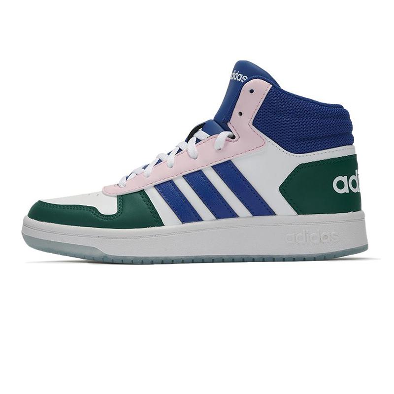 阿迪达斯生活Adidas NEO 女子 2021新款训练运动耐磨舒适透气休闲板鞋 GY5900