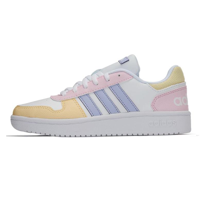 阿迪达斯生活Adidas NEO 女子 2021新款运动时尚耐磨复古舒适透气休闲板鞋 GY5903