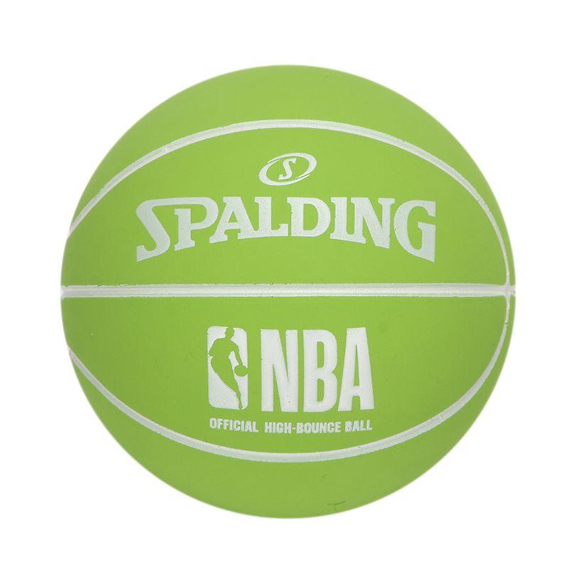斯伯丁SPALDING 男女 高弹力幼儿小篮球橡胶儿童玩具礼品1号小皮球nba摆件 51-290Y