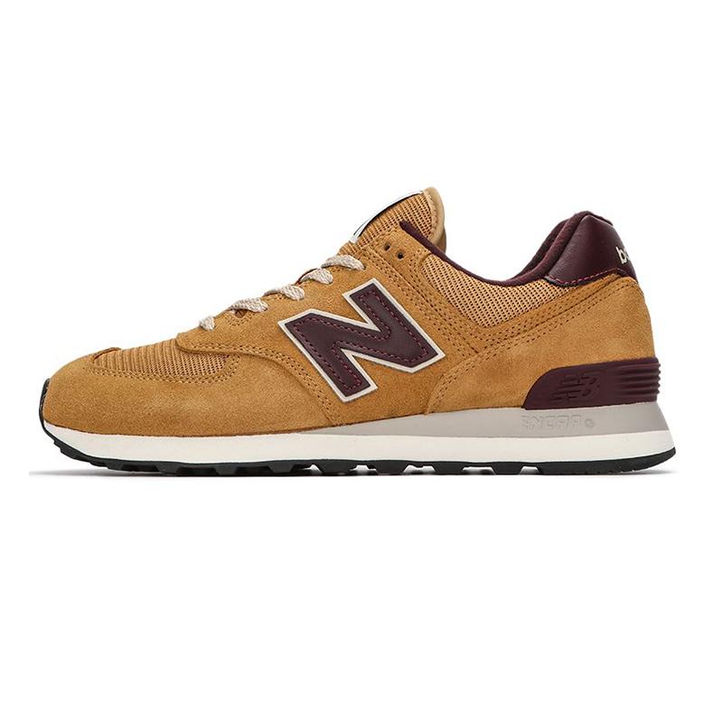 NEW BALANCE 男女 2021新款574运动透气跑步情侣休闲鞋 ML574BF2-D