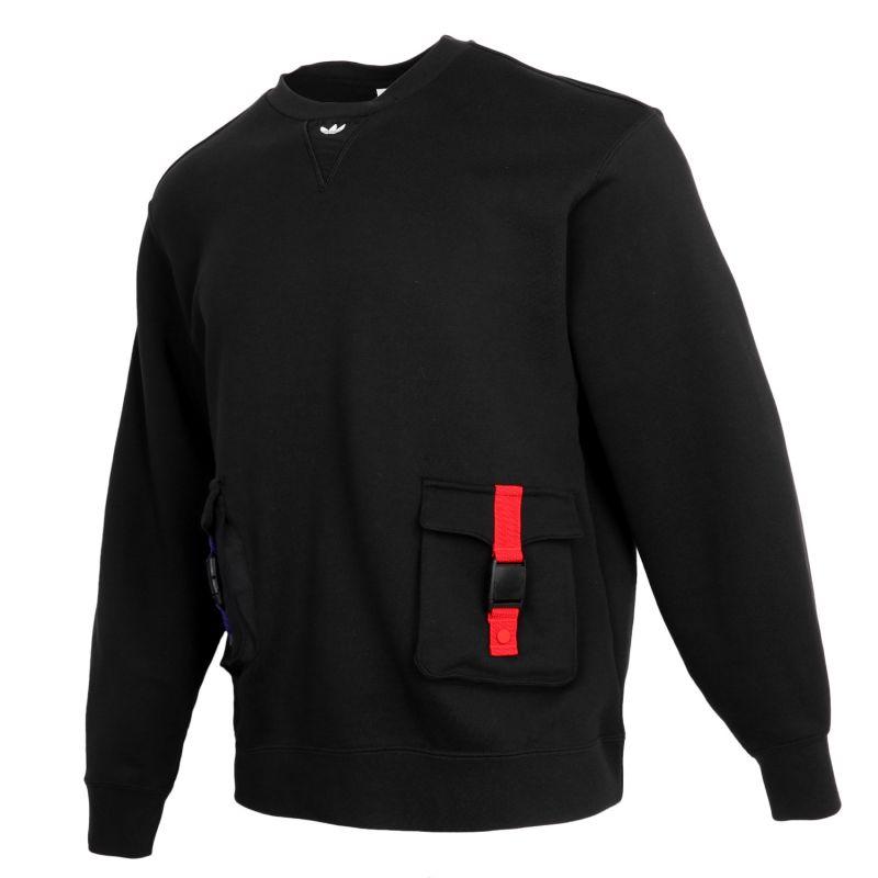 阿迪达斯三叶草ADIDAS 男装 2021牛年新年款运动长袖外套套头衫卫衣 GN5450
