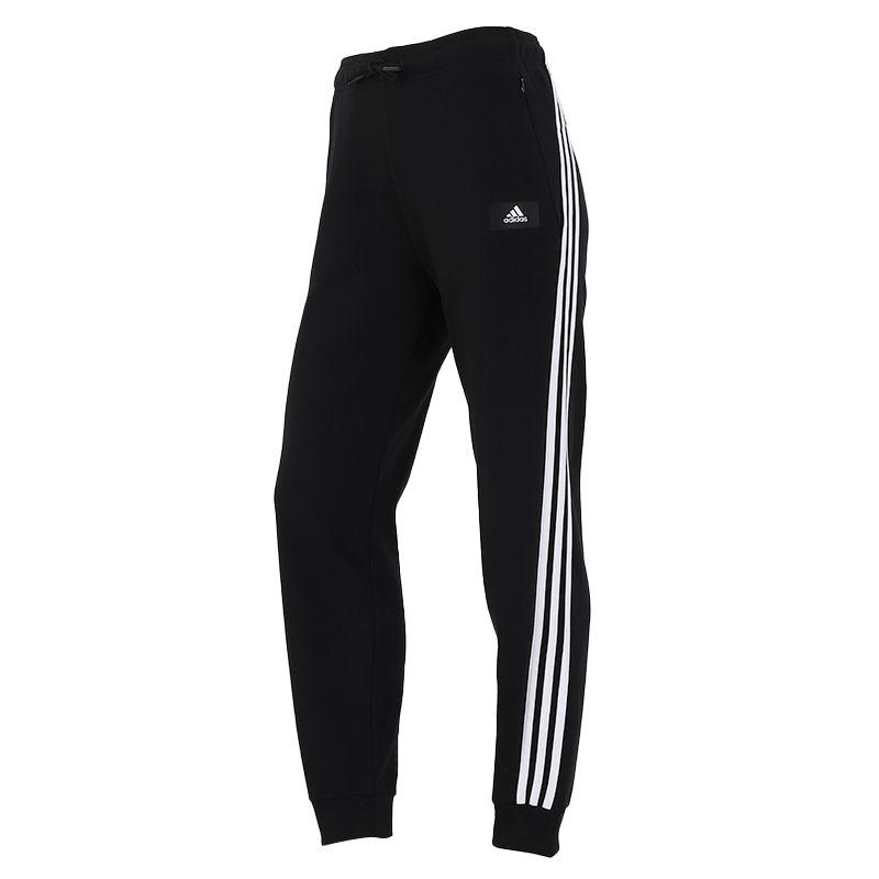 阿迪达斯ADIDAS 女子 2021新款舒适透气休闲运动针织长裤  H57311