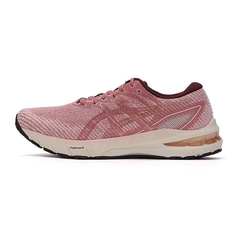 亚瑟士ASICS 女子 2021新款GT2000 9代稳定支撑慢跑鞋专业马拉松跑步鞋 1012B045-701