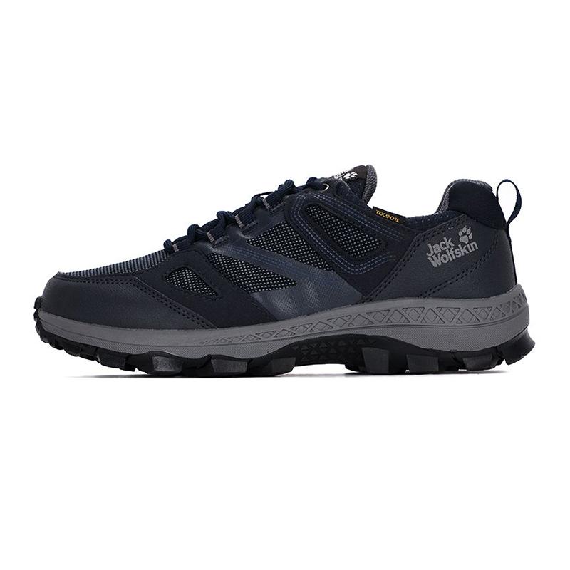 狼爪Jack wolfskin  男子 2021新款户外运动舒适耐磨低帮登山鞋 4043851-1172