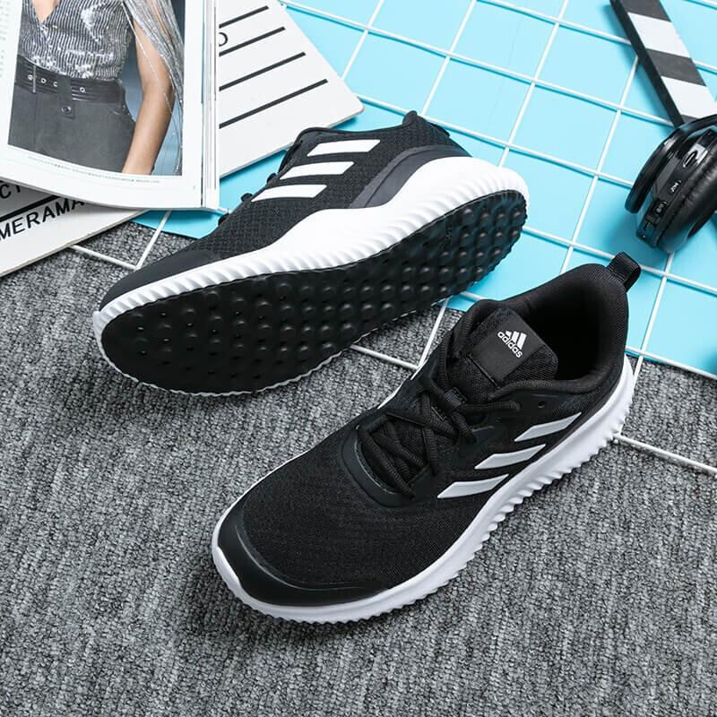 阿迪达斯ADIDAS 男女 2021新款情侣鞋运动缓震透气休闲舒适耐磨阿尔法跑步鞋 GZ3463