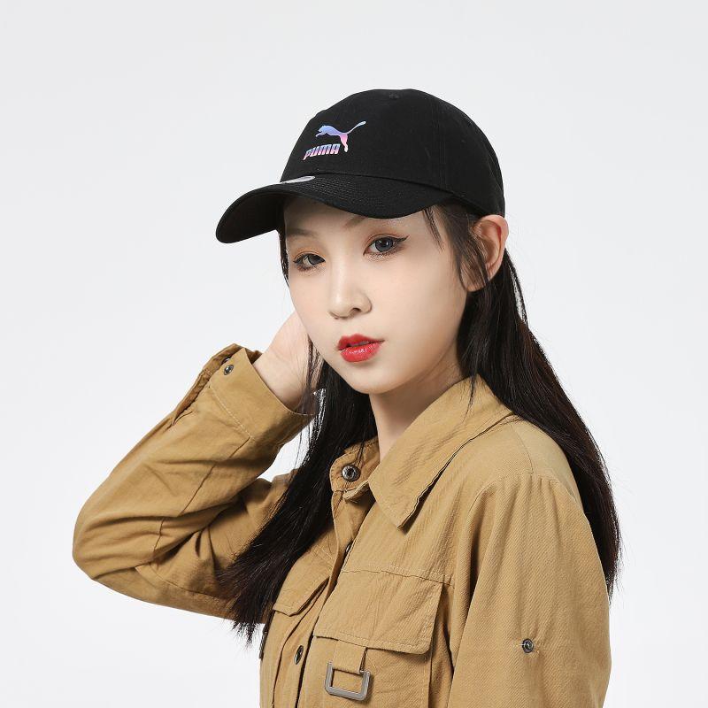 彪马PUMA Gradient Print BB Cap 男女 帽子 鸭舌帽 023926-01