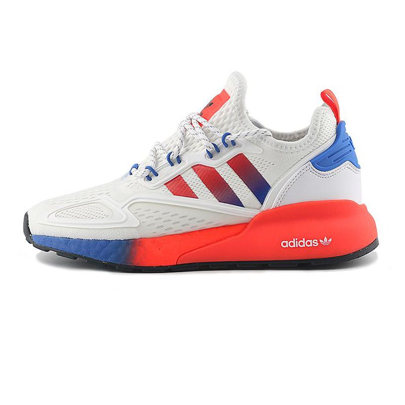 阿迪达斯 儿童 舒适休闲鞋网面透气运动跑步鞋  FX9519