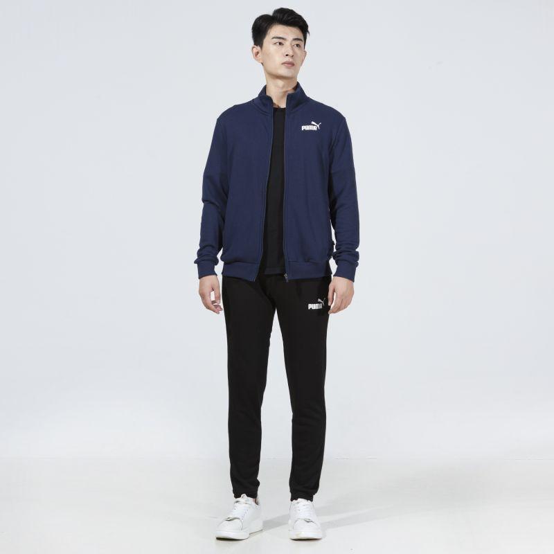 彪马PUMA 男子 2021新款舒适透气休闲运动针织套装  534517-99