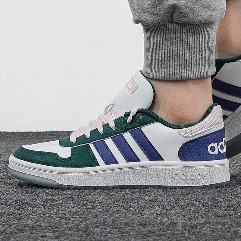 阿迪达斯生活Adidas NEO 女子 2021新款运动时尚耐磨复古舒适透气休闲板鞋 GW3368