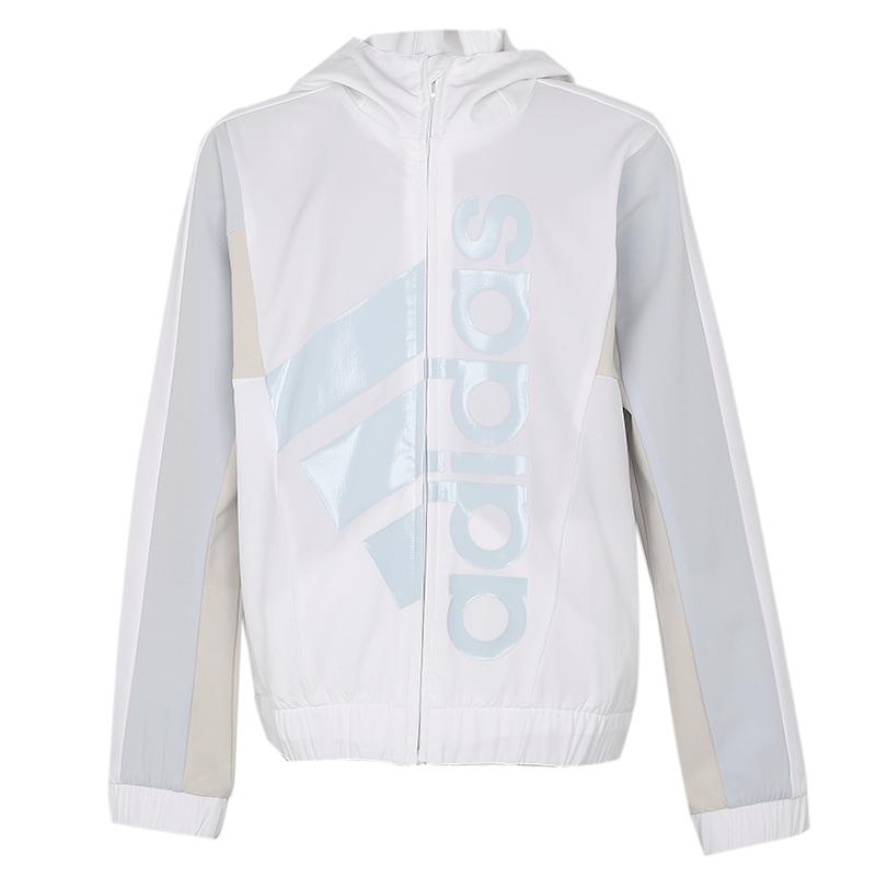 阿迪达斯  YG TE STRWV JKT 儿童 夹克外套 梭织夹克 GP1732
