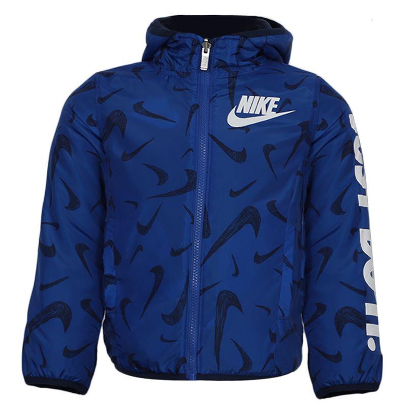 耐克NIKE 儿童 梭织防风衣运动夹克 NY2042110PS-003